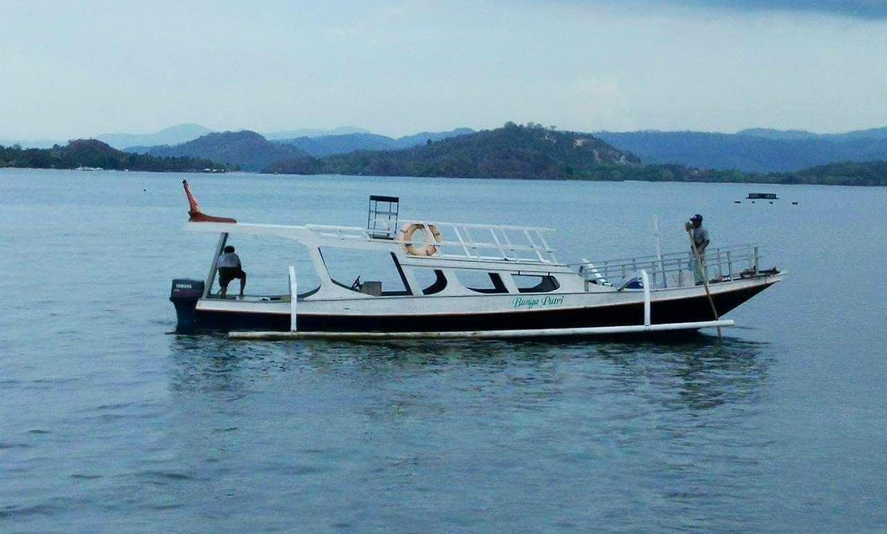 Enjoy Fishing in Nusa Tenggara Barat, Indonesia on Passenger Boat