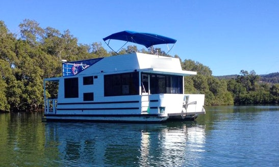 Experience Tweed Heads On 'misty Blue' Houseboat