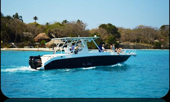 Charter 38' Speedboat In Cartagena, Colombia