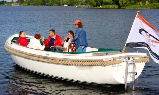 Rent A Luxury Sloop Boat In Aalsmeer