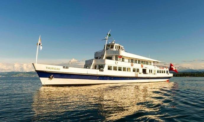 Charter 160' MS Thurgau Passenger Boat in Romanshorn, Switzerland