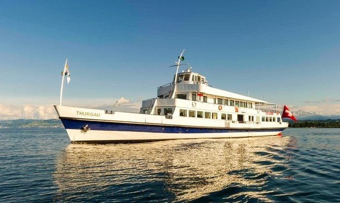 Charter 160' MS Thurgau Passenger Boat in Romanshorn, Switzerland