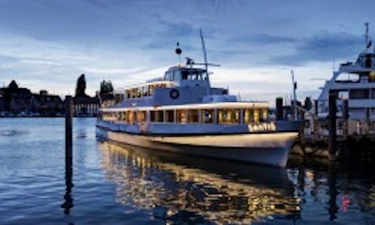 Charter 133' Ms Säntis Passenger Boat In Romanshorn, Switzerland