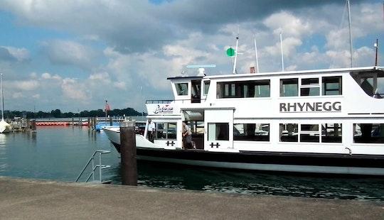 Charter 102' Ms Rhynegg Passenger Boat In Romanshorn, Switzerland