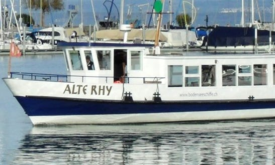 Charter 72' Ms Old Rhy Passenger Boat In Romanshorn, Switzerland