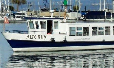 Charter 72' MS Old Rhy Passenger Boat in Romanshorn, Switzerland