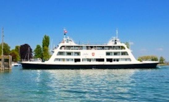 Charter 182' Mf Romanshorn Passenger Boat In Romanshorn, Switzerland
