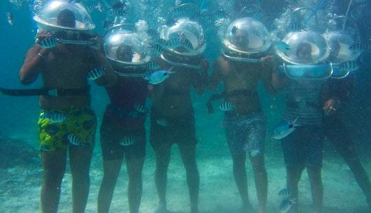 Unforgettable Sea Walking Trips In Quatre Cocos, Mauritius