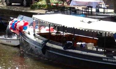 "Hire ""Avanti"" Canal Boat In Amsterdam, Netherlands"