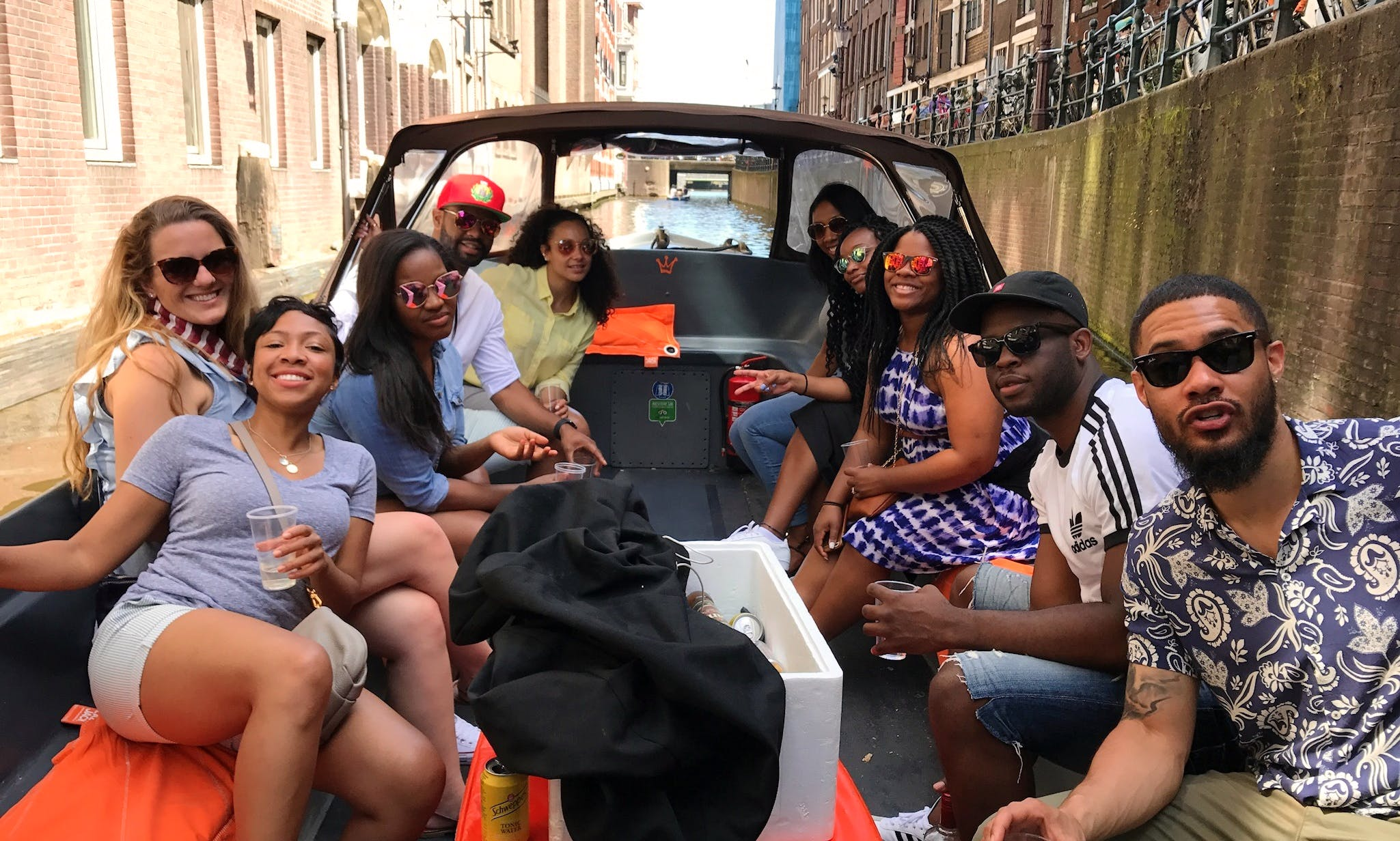 """Hire """"Liverpool"""" Canal Boat In Amsterdam, Netherlands"""