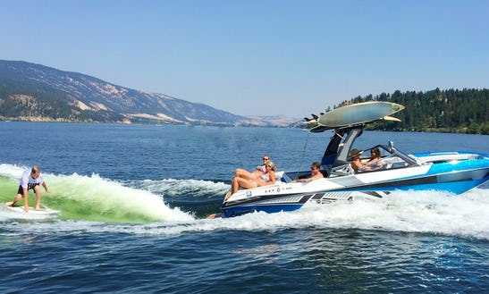 23' Tige Rzx3 Bowrider Boat Charter In Lake Country, British Columbia
