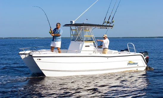 Enjoy Fishing In Subic Bay Freeport Zone, Philippines On 24' Center Console