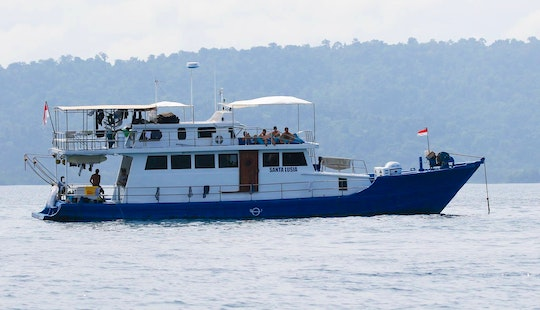 Enjoy Surf Charter In Padang, Indonesia On 65' Santa Lusia Power Mega Yacht