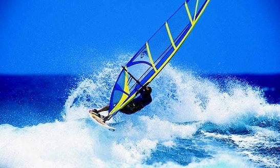 Enjoy Windsurfing In Denpasar Selatan, Bali