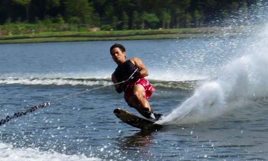 Enjoy Water Skiing In Kuantan, Pahang