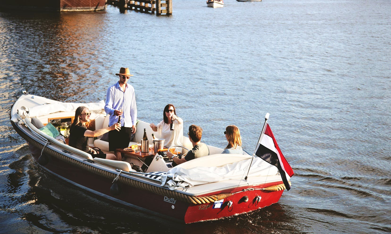 Electric Boat rental in Amsterdam