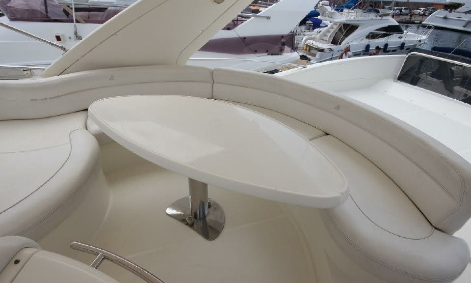60' UNIQ Azimut Yacht for rent in Marina del Rey