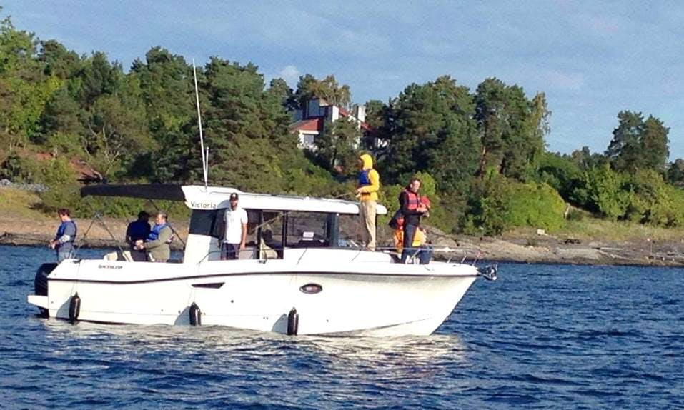 Book a Cuddy Cabin Fishing Charter in Akershus, Norway