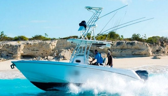 Charter 32ft 'my Fair Share' Boston Center Console In Caicos Islands, Turks And Caicos Islands