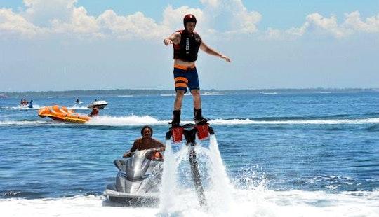Enjoy Flyboarding In Denpasar Barat, Indonesia