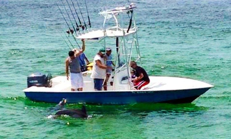Inshore Fishing On 22' Cape Horn Boat In Destin, Florida