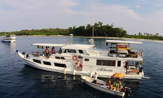 Enjoy Surf Charter In Padang Timur, Indonesia On 70' Aileoita 1 Power Megha Yacht