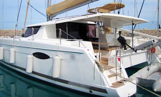 'arlix' Helia 44 Sailing Catamaran Charter In Sant'agata Di Militello