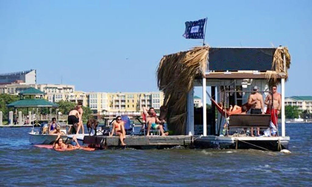Tiki Hut Rental in Charleston, South Carolina