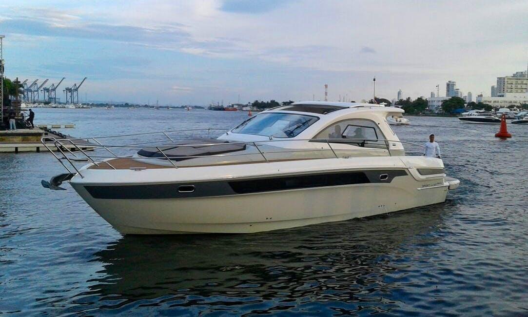 Luxury 44ft Bavaria yacht 2016 model - Rosario Island tours