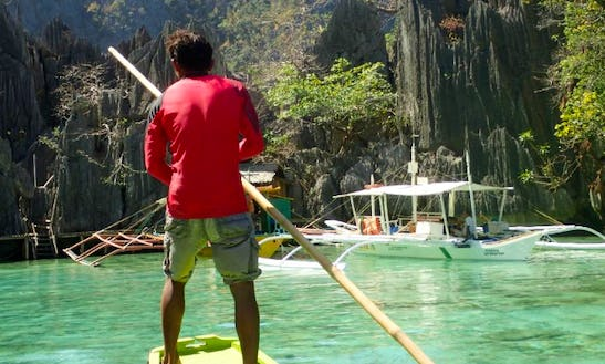 Traditional Pontoon Boat For Charter In Mimaropa, Philippines