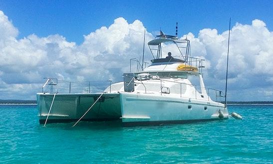 Charter 40' Power Catamaran In Cape Town, Western Cape