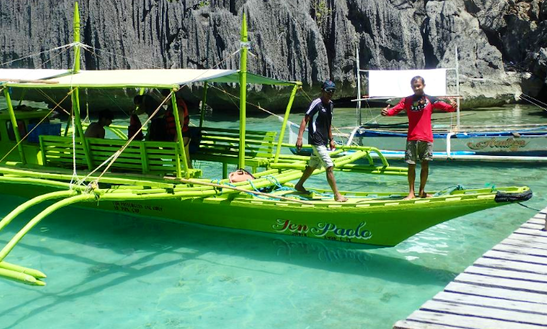 Charter A 15 Person Traditional Boat In Mimaropa, Philippines