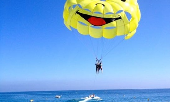 Enjoy Parasailing In Antalya, Turkey