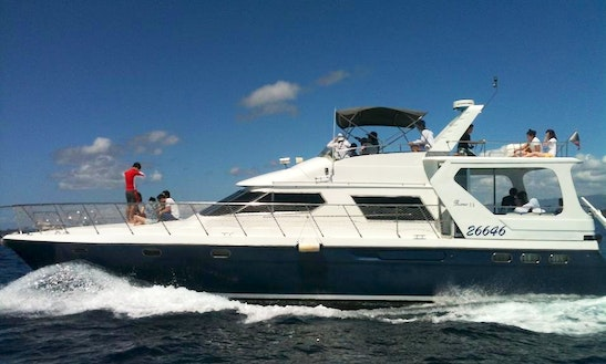 Custom Charter Experience On A Motor Yacht In Lapu-lapu City, Philippines