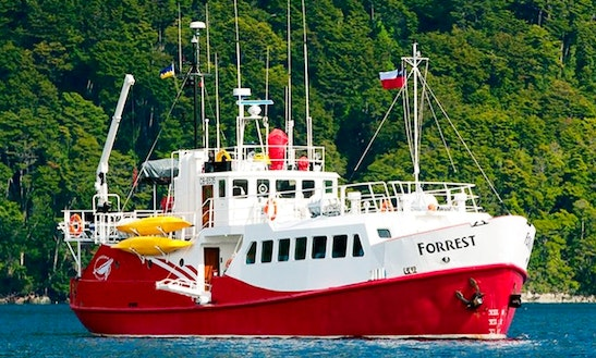 Strait Of Magellan Area Expeditions On M/n Forrest