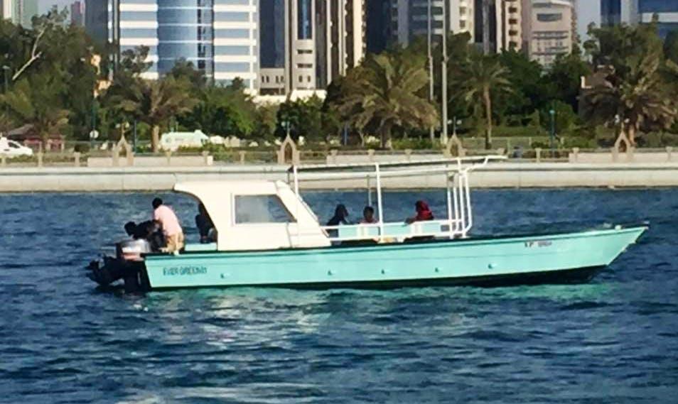 Enjoy Fishing in Abu Dhabi, United Arab Emirates on Cuddy Cabin