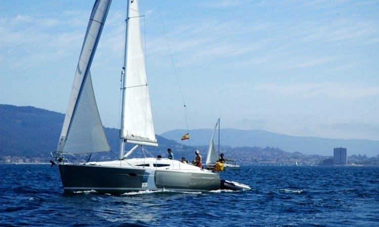 Elan Impressiom 344 for Sailing Charter in Vigo Spain
