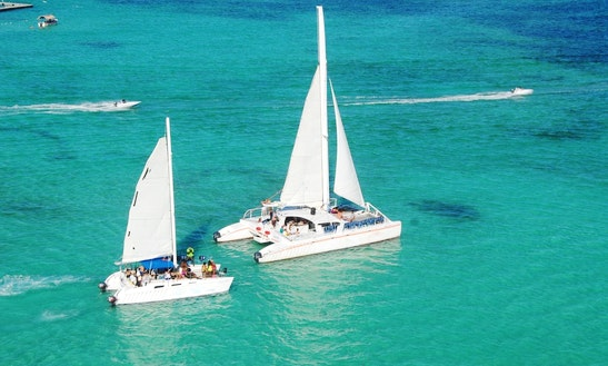 Private Catamaran Charter In Puntacana