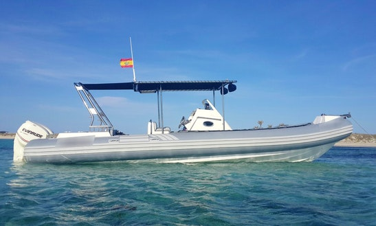 Sacs S33 X-file Rib Rental In Ibiza