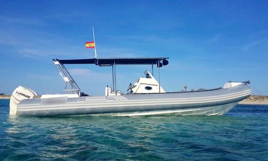 Sacs S33 X-file Rib Rental In Ibiza