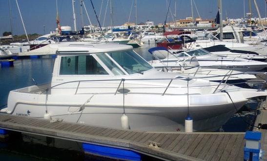 Faeton 840 Motor Boat Charter In Ayamonte