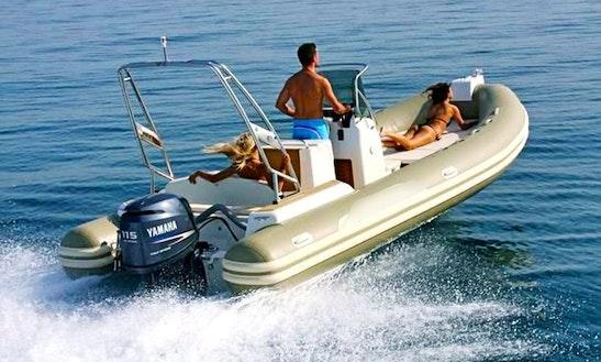 Capelli Tempest 625 Rib Rental In Ibiza