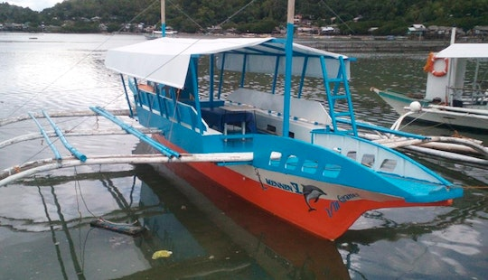 Hop On Board Our Paraw Traditional Boat Of The Region In Bais City, Philippines