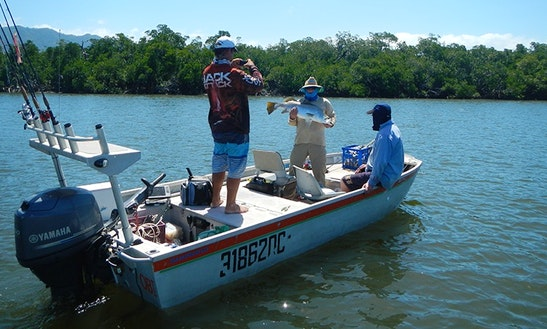 Enjoy Fishing In Cairns City, Australia On 17' Jon Boat