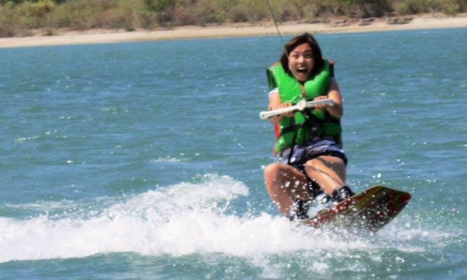 Like Snowboarding on Water, try wakeboarding in Kuta, Bali