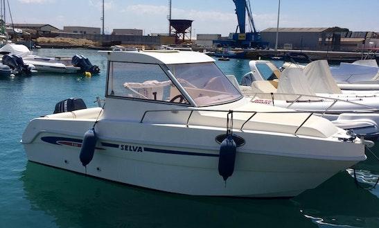 Barca Cabinata Selva 600