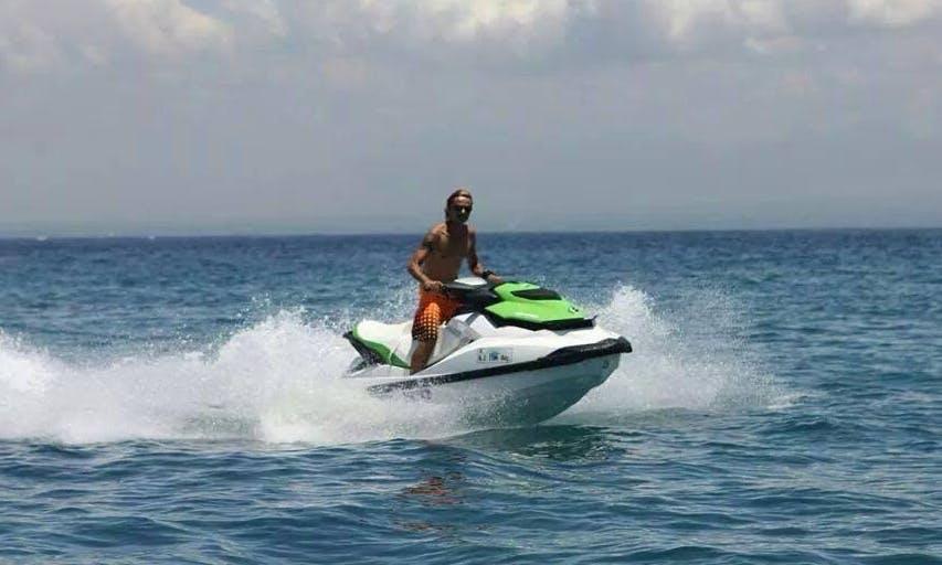 Enjoyable Green and White 2 Seat Jet Ski in Kuta Selatan, Bali