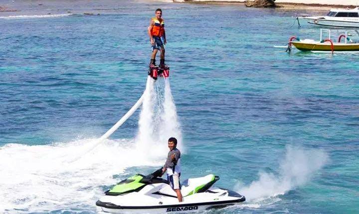 $90 per person to go Flyboarding in Kuta Selatan, Bali