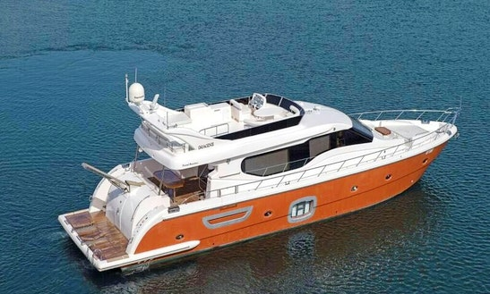 Charter 80' Royal Power Mega Yacht In Dubai, United Arab Emirates