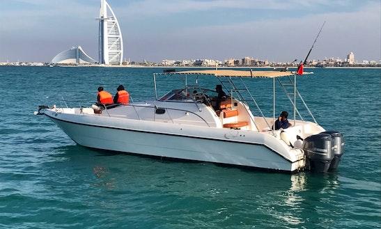 Charter A 35' Cuddy Cabin In Dubai, United Arab Emirates